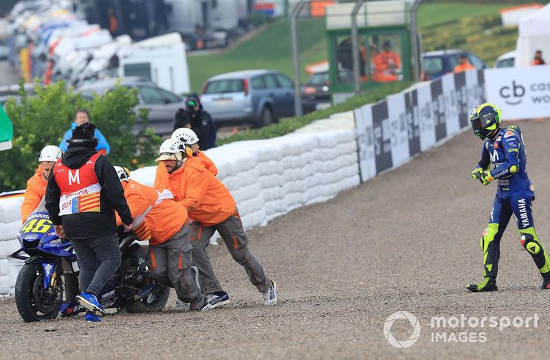 Валентино Россі, Yamaha Factory Racing, після аварії