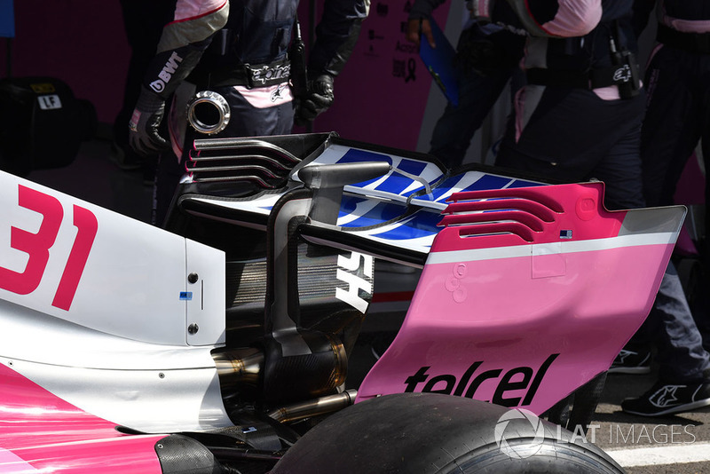Racing Point Force India F1 Team VJM11 arka kanat