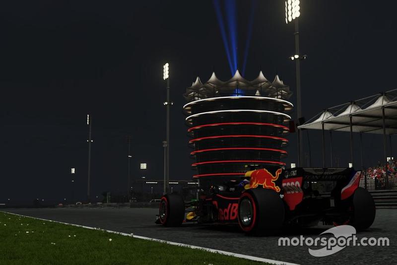 Balapan malam hari di Bahrain
