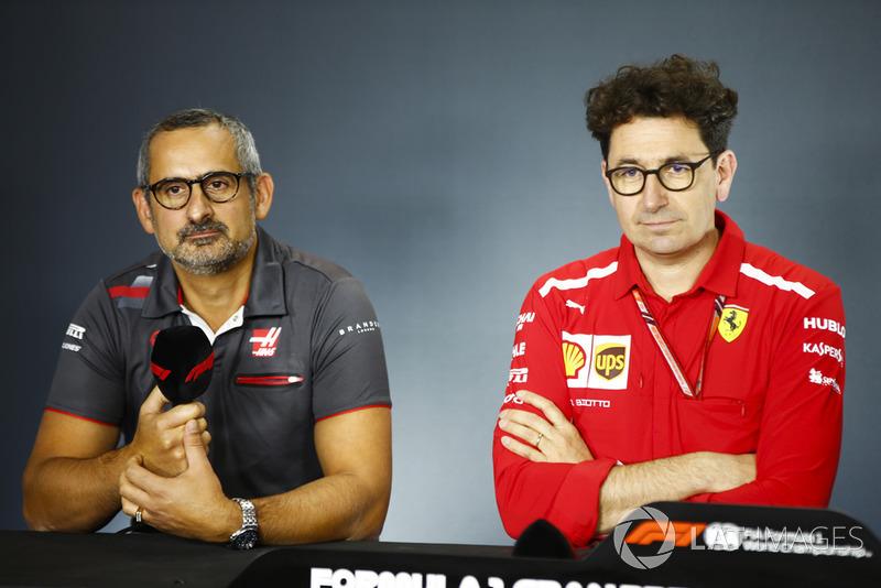 Аеродинамік Haas F1 Бен Агатангелу, Технічний директор Ferrari Маттіа Бінотто