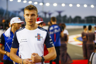 Sergey Sirotkin, Williams Racing, Charles Leclerc, Sauber, and Pierre Gasly, Toro Rosso