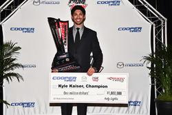 Кайл Кайзер, чемпіон Indy Lights