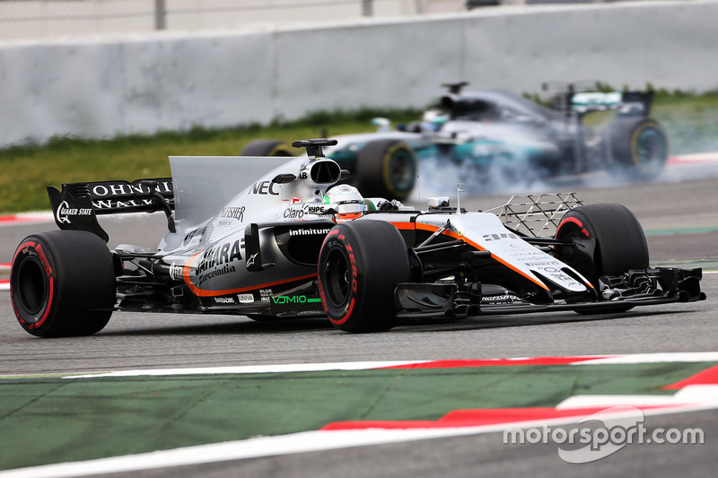 Alfonso Celis Jr., Sahara Force India F1 VJM10