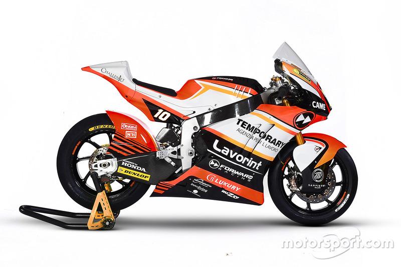 Moto de Luca Marini, Forward Racing
