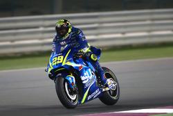 IAndrea Iannone, Team Suzuki MotoGP con el alerón de Suzuki
