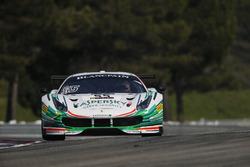 #55 Kaspersky Motorsport, Ferrari 488 GT3: Джанкарло Физикелла, Марко Чьочи