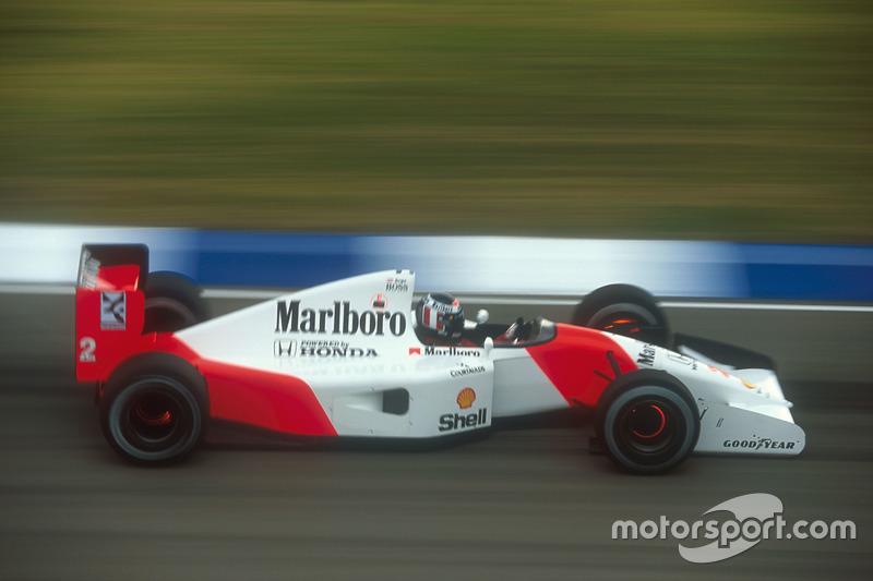 1992 (Аделаїда). Подіум: 1. Герхард Бергер, McLaren. 2. Міхаель Шумахер, Benetton. 3. Мартін Брандл, Benetton