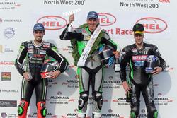 Podium Supersport: 1. Martin Jessopp, Triumph, 2. Ian Hutchinson, Yamaha, 3. James Hillier, Kawasaki