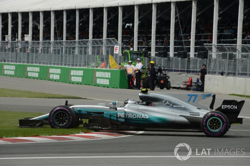 Dreher: Valtteri Bottas, Mercedes AMG F1 W08