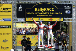 Winners Kris Meeke, Paul Nagle, Citroën C3 WRC, Citroën World Rally Team
