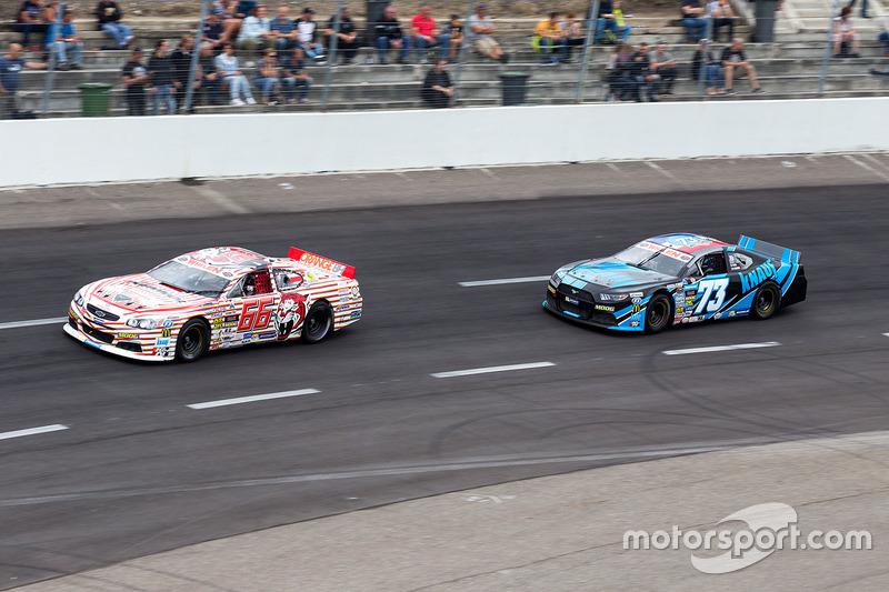 Maciej Dreszer, DF1 Racing Chevrolet und Paul Guiod, Knauf Racing Ford
