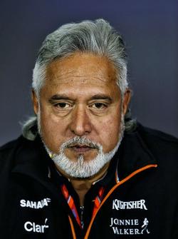 Dr. Vijay Mallya, Sahara Force India Formula One Team takım sahibi