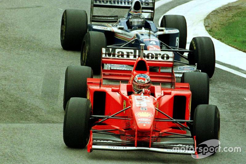 Schumacher vor Frentzen