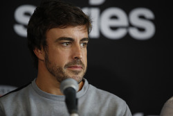 Fernando Alonso press conference