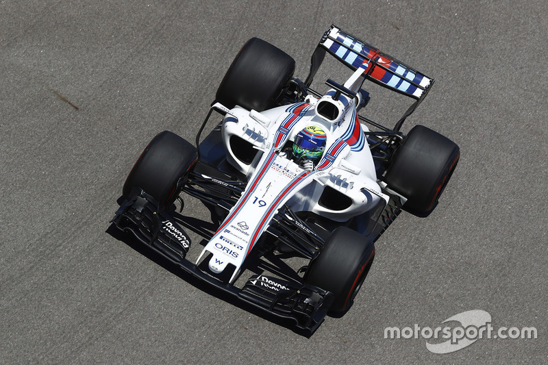 7. Felipe Massa, Williams FW40