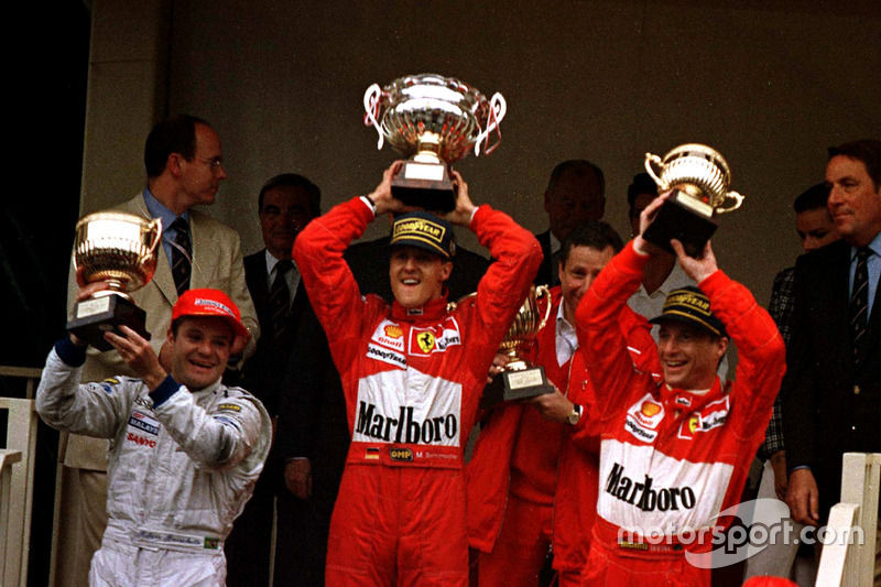 К 11-й гонке сезона, Гран При Венгрии, Шумахер подошел лидером чемпионата с тремя победами и десятью очками преимущества над Вильневом