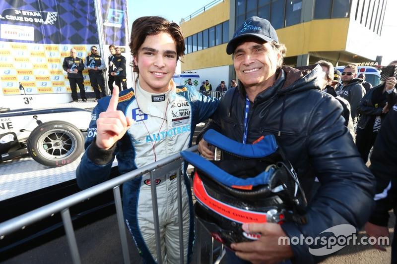 Pedro Piquet e Nelson Piquet