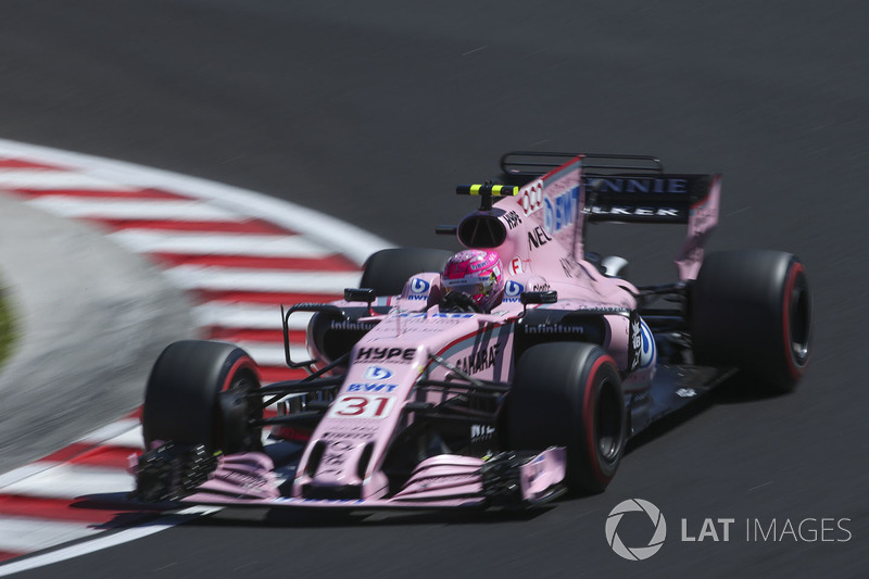 8. Esteban Ocon, Sahara Force India F1 VJM10