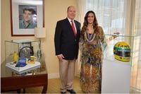 Príncipe Albert II e Bianca Senna
