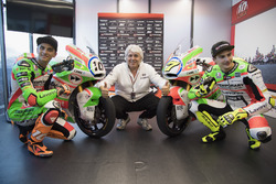 Luca Marini, Forward Racing y Lorenzo Baldassarri, Forward Racing con la nueva decoración