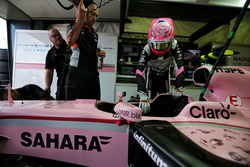 Esteban Ocon, Sahara Force India F1, VJM10