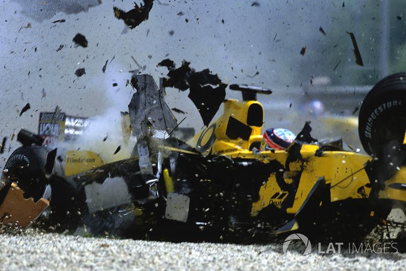 Crash:Takuma Sato, Jordan