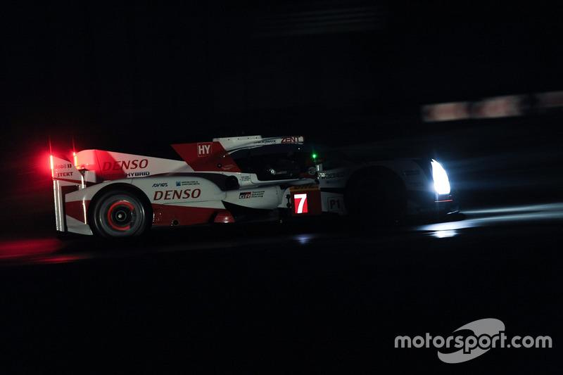 #7 Toyota Gazoo Racing Toyota TS050 Hybrid: Майк Конвей, Камуі Кобаясі, Юдзі Кунімото