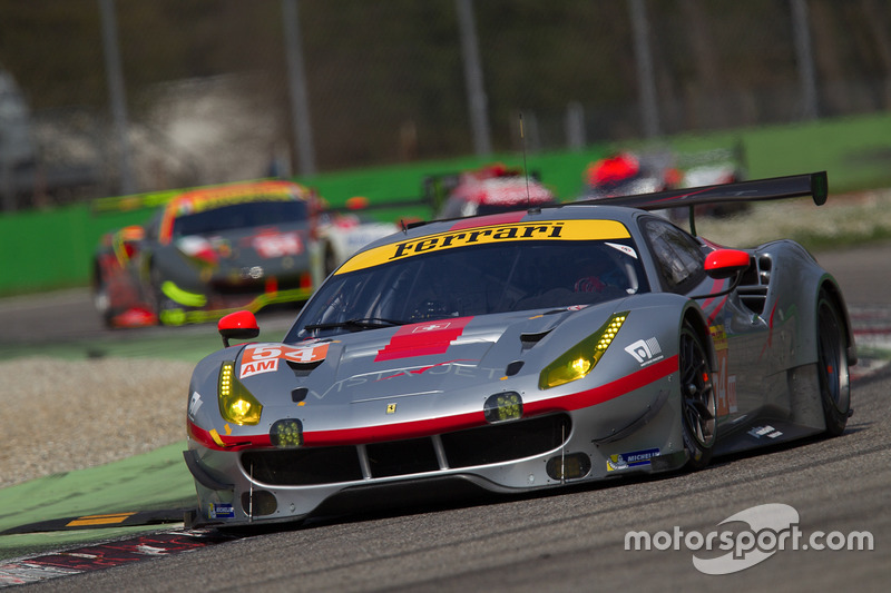 #54 Spirit of Race, Ferrari 488 GTE: Thomas Flohr, Francesco Castellacci, Miguel Molina