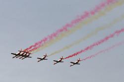 Flugshow in Jerez
