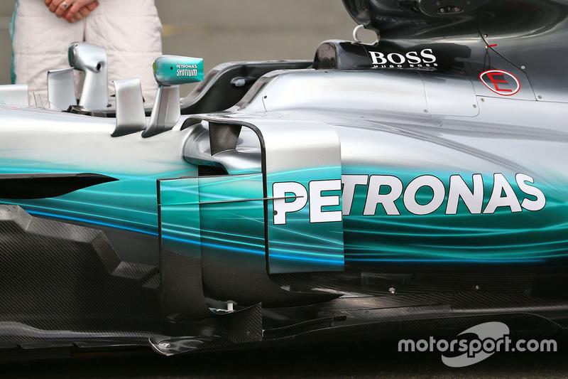 Mercedes AMG F1 W08 detay