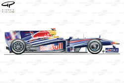 Red Bull RB5 2009 Abu Dhabi side view