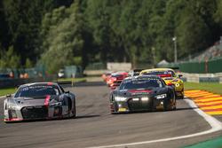 #5 Audi Sport Team WRT Audi R8: Marcel Fässler, Dries Vanthoor, Will Stevens, #75 ISR Audi R8 LMS: F