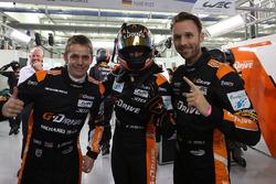 LMP2 polesitters: #26 G-Drive Racing Oreca 05 - Nissan: Roman Rusinov, Alex Brundle, René Rast