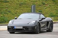 Porsche 718 Spyder 2018 Erlkönig