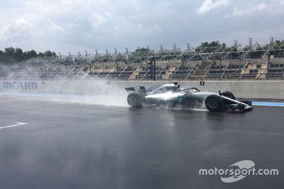 Test Pirelli en mayo