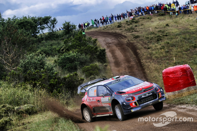 Craig Breen, Scott Martin, Citroën World Rally Team Citroën C3 WRC