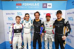 Sam Bird, DS Virgin Racing, Sébastien Buemi, Renault e.Dams, Jean-Eric Vergne, Techeetah, Lucas di G