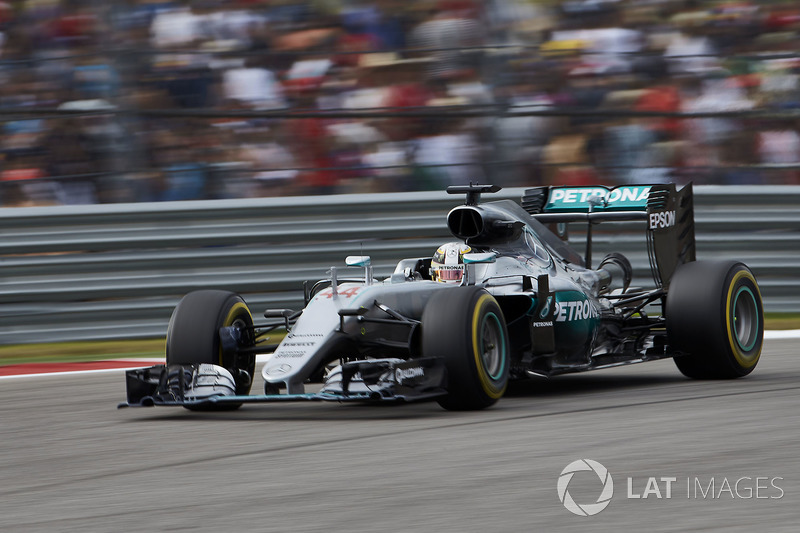 2016 – Остин: Льюис Хэмилтон, Mercedes F1 W07 Hybrid