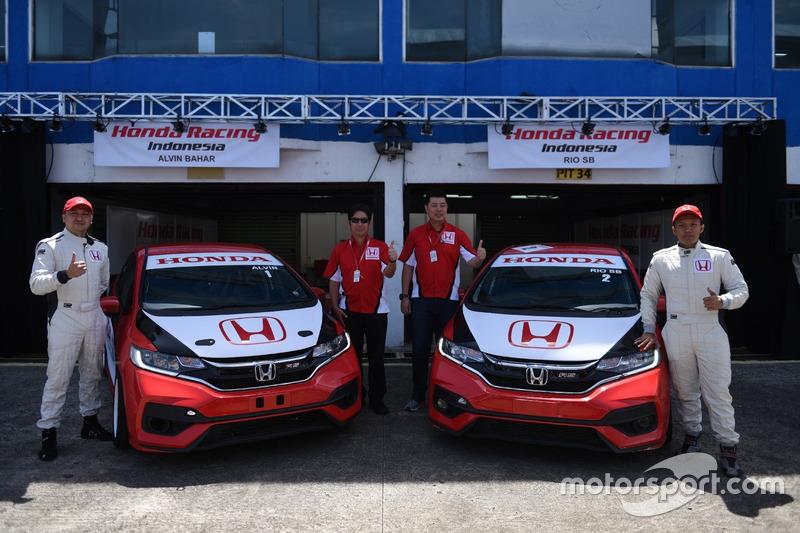 Alvin Bahar, Rio SB, Honda Racing Indonesia