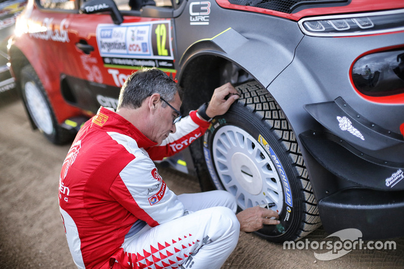 Chris Patterson, Citroën C3 WRC, Citroën World Rally Team