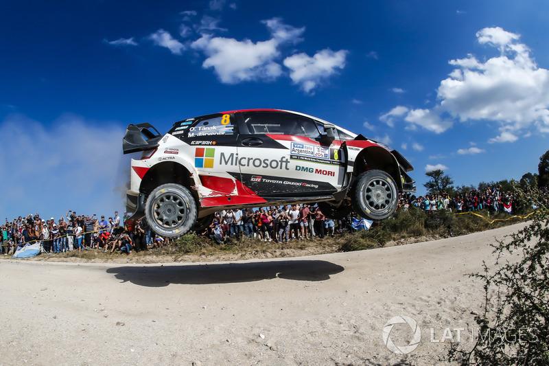 Ott Tanak, Martin Järveoja, Toyota Yaris WRC, Toyota Gazoo Racing
