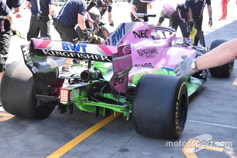 Force India VJM11 achterkant