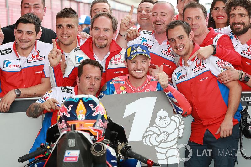 Ganador de la pole Jack Miller, Pramac Racing