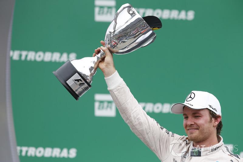 Ganador del GP de Brasil 2015: Nico Rosberg, Mercedes AMG F1