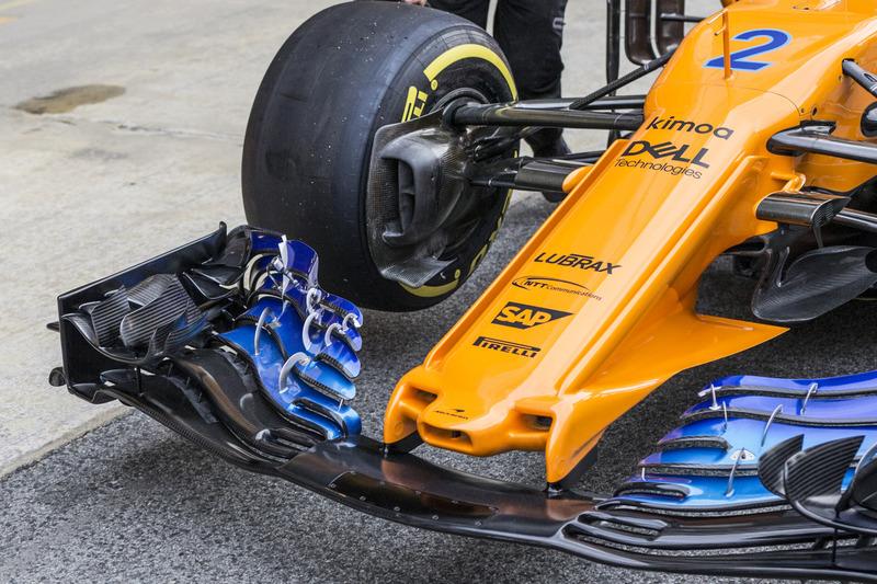 McLaren MCL33 burun