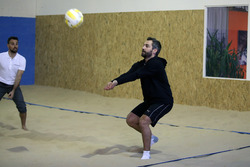 Timo Glock, Indoor Beachvolleyball