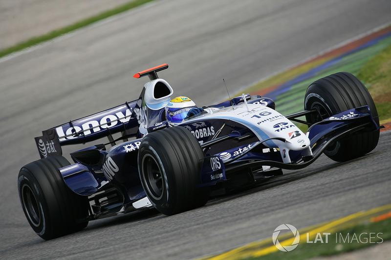 2007: Williams FW29 Toyota (1 подиум, 4-е место в КК)