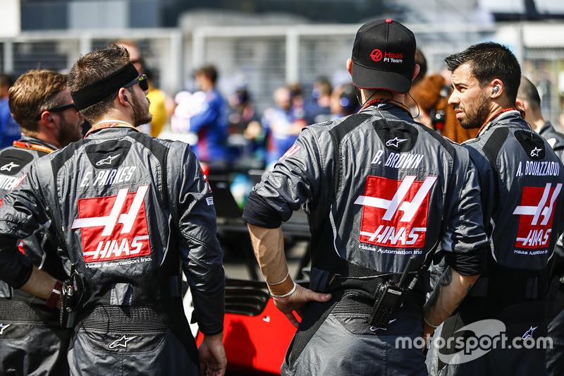 Kru Haas F1