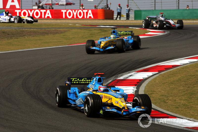 2005: Fernando Alonso, Renault R25