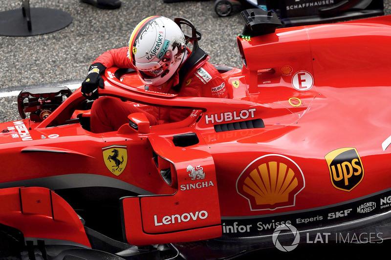 1. Себастьян Феттель, Ferrari — 54